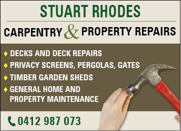 Carpentry and Deck Repairs