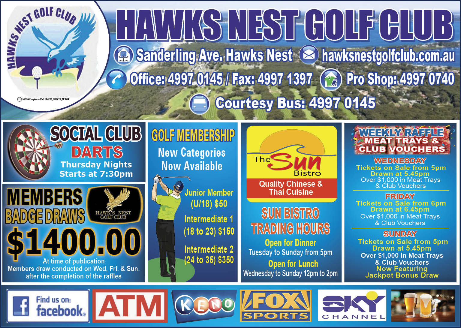 Hawks Nest Golf Club