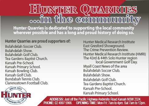 Hunter Quarries
