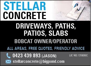 Stellar Concrete