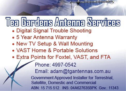 Tea Gardens Antennas