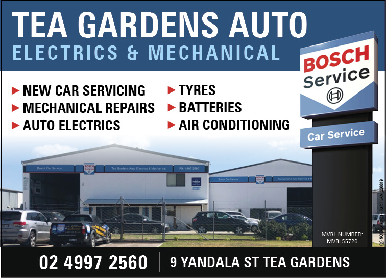 Tea Gardens Auto - Electrics & Mechanical