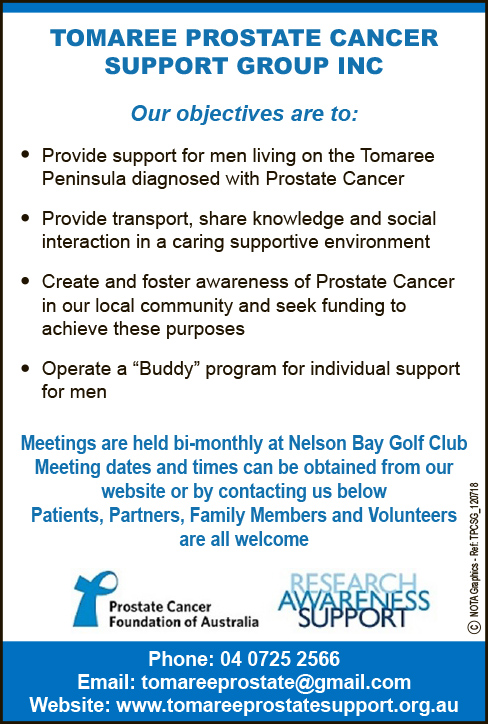Tomaree Prostate Support Group