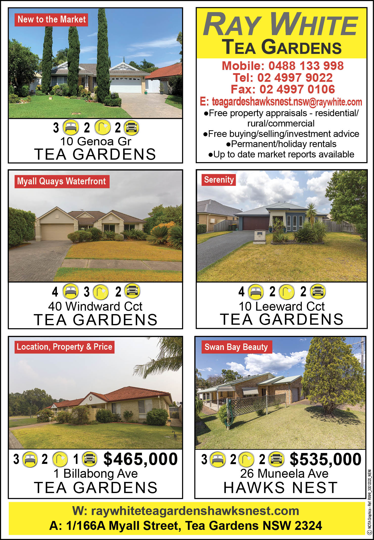 Ray White Real Estate Tea Gardens