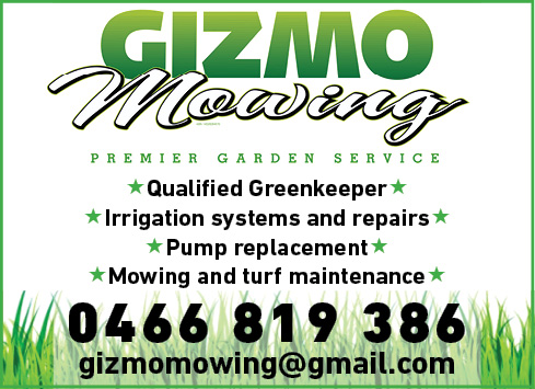Gizmow Mowing
