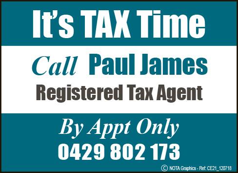 Paul G James Registered Tax Agent