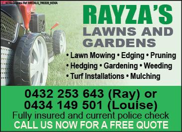 Rayzas Lawns & Gardens