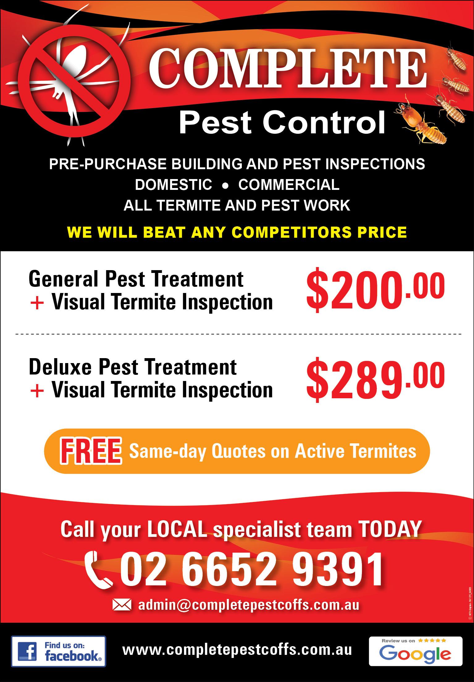 Complete Pest Control