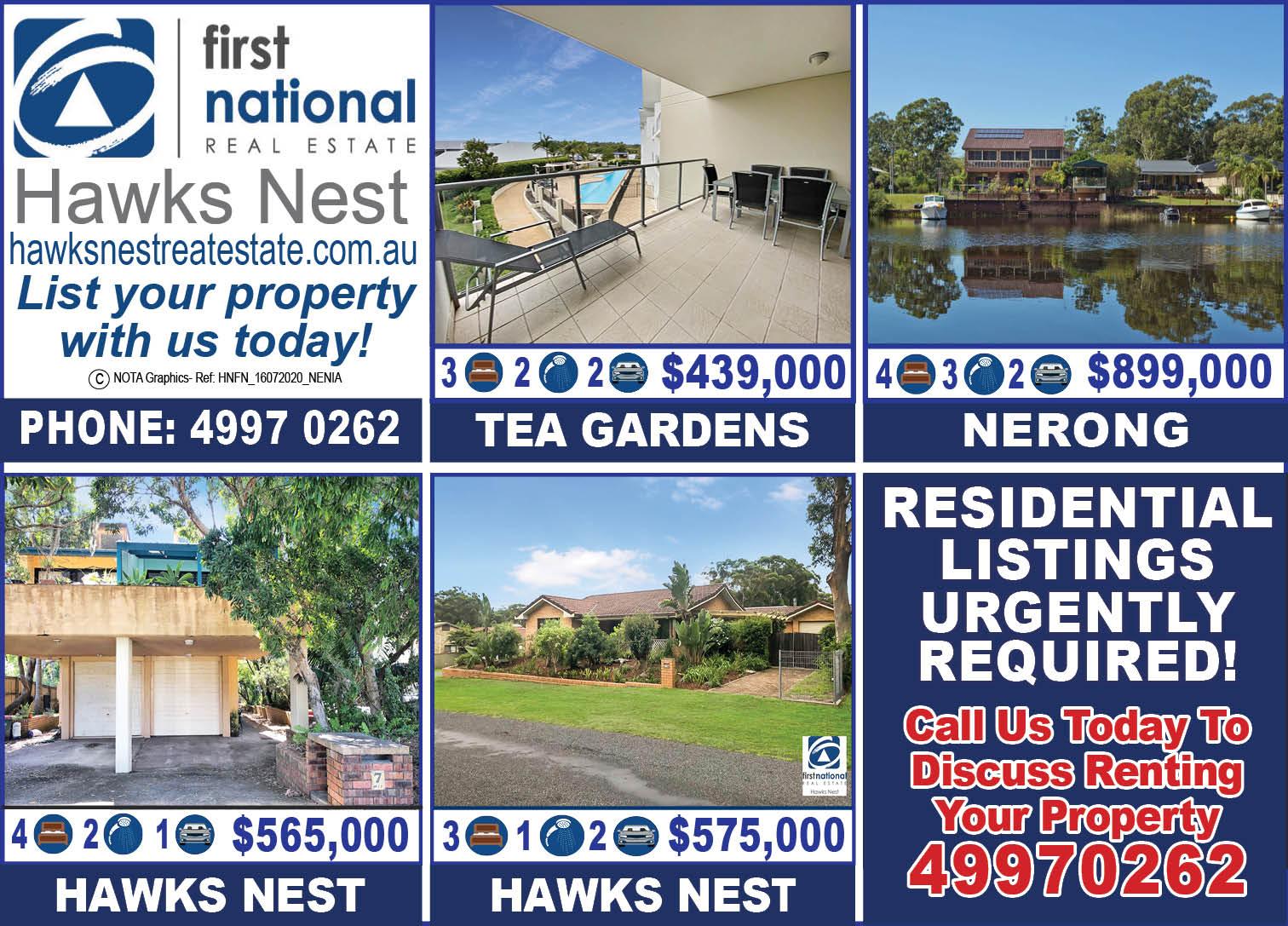 Hawks Nest First National