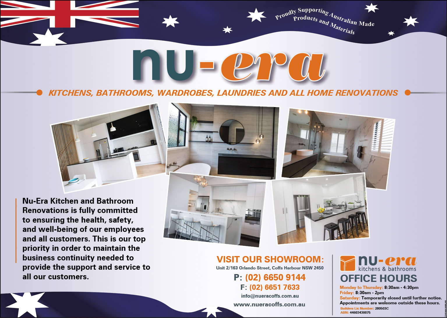 NuEra Kitchen and Bathroom Renovations PTY LTD