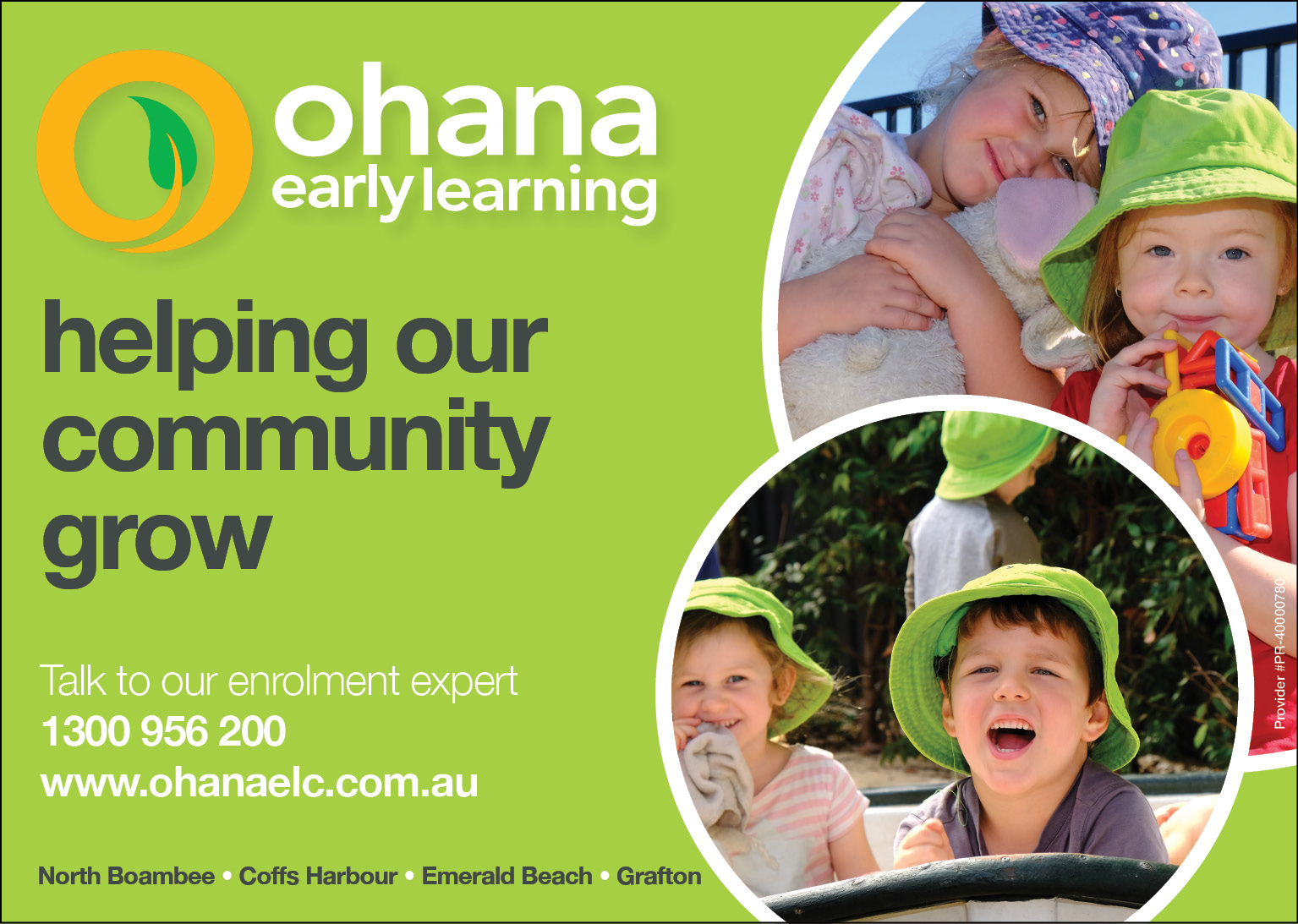 Ohana Early Learning Centres Pty Limited