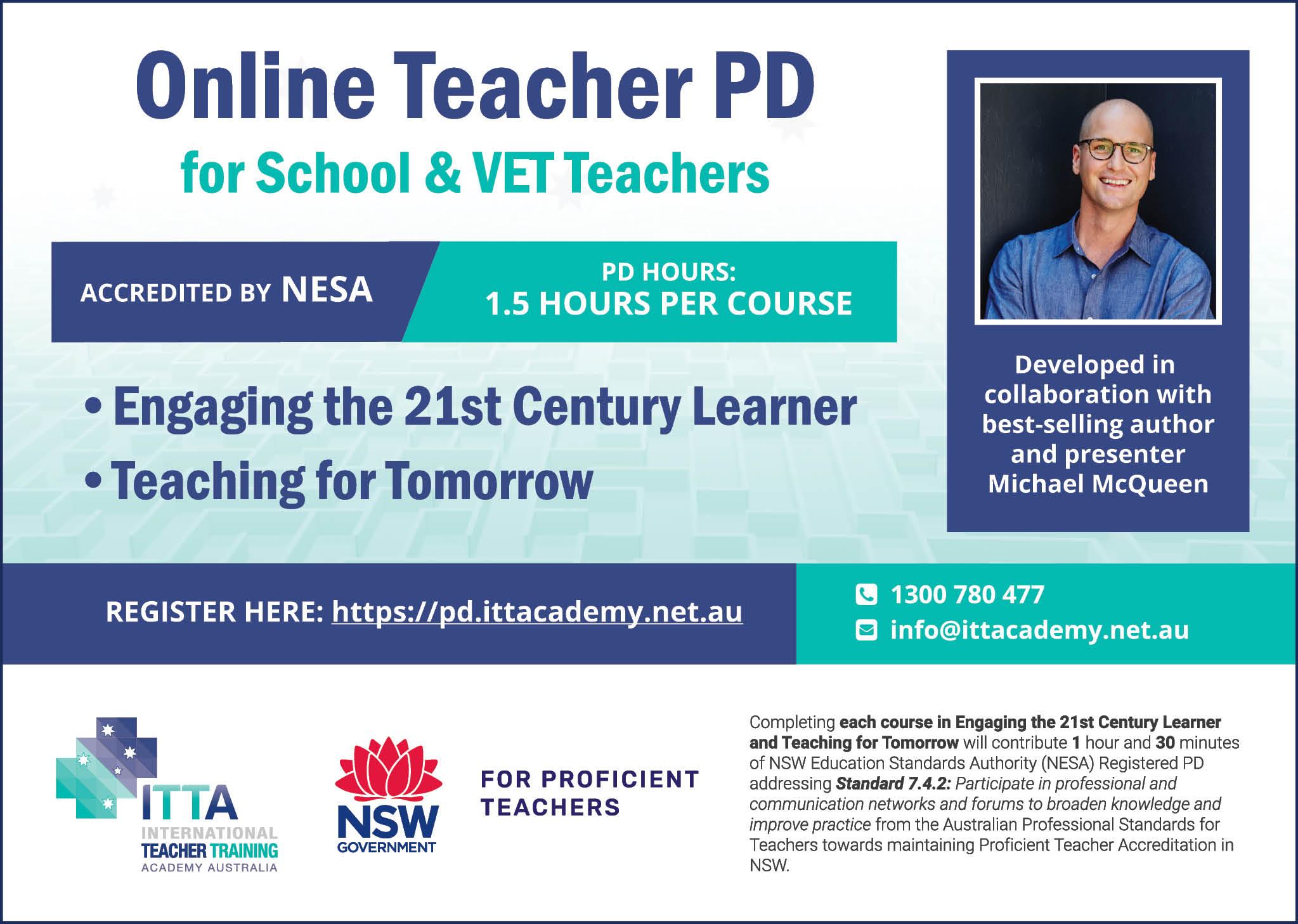 International Teacher Training Academy Australia