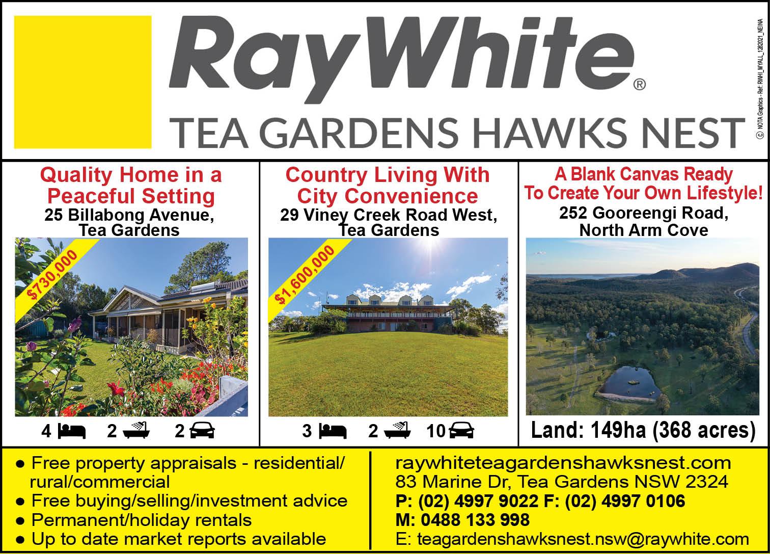Ray White Estate Tea Gardens